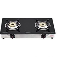 Buy Pigeon Backline Smart 2 Burner Gas Stove, Black from Amazon