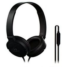 Buy SoundMagic P10S Headphones with Mic (Black/Gunmetal) from Amazon