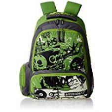 Wildcraft Crump Polyester 21 Ltrs Green Laptop Bag for Rs. 1,197