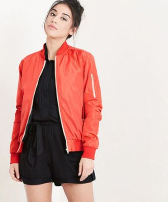 Yepme Stella Bomber Jacket - Orange for Rs. 1299
