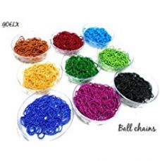 Buy AM Ball Chains For Jewellery Making, Set Of 9 Colours from Amazon