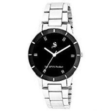 Buy SPYN Analogue Casual Black Dial Girl's Watch - SS0013 from Amazon