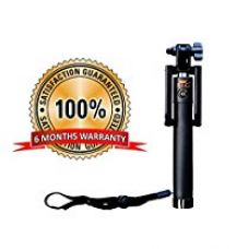 R&G Premium Quality High Class Bluetooth Selfie Stick - (Black) for Rs. 649