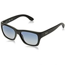 Ray-Ban Gradient Square unisex Sunglasses (601S4L|52.2 millimeters|Light Grey Gradient Dark Blue) for Rs. 4,000