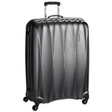 Buy American Tourister Polycarbonate 79 cms Gun Metal Hardsided Suitcase (38W (0) 58 003) from Amazon