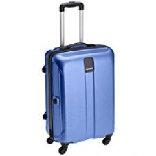 Buy Safari Thorium Polycarbonate 77 cms Blue Hardsided Suitcase (Thorium-Stubble-Dazzling-Blue-77-4WH) from Amazon