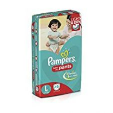 Pampers Large Size Diaper Pants (48 Count) for Rs. 799