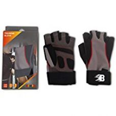 Buy Burn Training Gloves, Small (Black/Brown) from Amazon