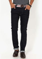 U.S. Polo Assn. Black Solid Skinny Fit Jeans for Rs. 1499
