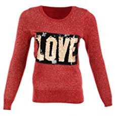 Miss Maria Girls Woollen Sweater (Red, Small) for Rs. 755