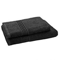 Buy HomeStrap Classic Bath Towel Set -Blue - Pack of 2 from Amazon