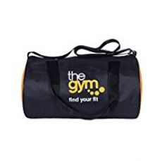 Dee Mannequin Black,Orange Polyester 900Cms Softsided Gym Druffle for Rs. 199