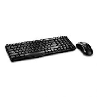 Rapoo X1800 Wireless Keyboard and Mouse Combo (Black) for Rs. 1,250