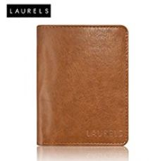Laurels Aspire Tan Leather Men's Wallet (Lw-Asp-06-Bk) for Rs. 529