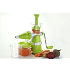 Floraware Plastic Fruit and Vegetable Juicer, Green for Rs. 454