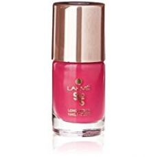 Lakme 9 to 5 Long Wear Nail Color, Pink Blast, 9 ml for Rs. 198