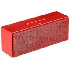 Buy AmazonBasics Portable Bluetooth Speaker - Red from Amazon