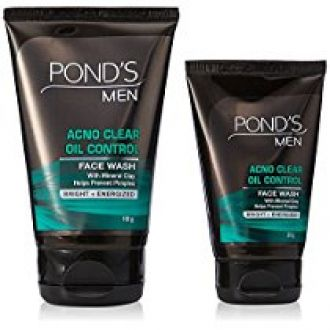 POND'S Men Oil Control Face Wash 100 g for Rs. 185