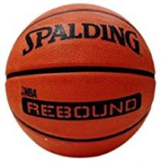 Spalding 1700008 Rubber Basket Ball, Size 7 (Brick) for Rs. 616
