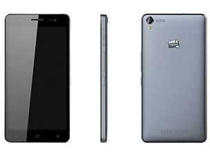Buy Micromax Canvas Juice 4G Q461 (Grey) from Amazon