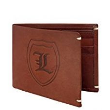 Buy Laurels Leather Brown Men's Wallet from Amazon