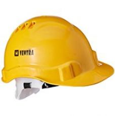 Buy Ventra LD Safety Helmet, Yellow from Amazon