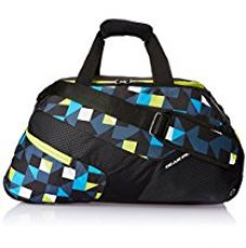 Buy Gear 17 ltr Grey and Blue and Green Duffle Bag (DUFPACT530403) from Amazon