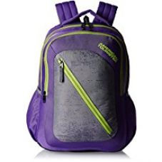 American Tourister 24 Ltrs Purple Casual Backpack (Casper Bacpack 08) for Rs. 811