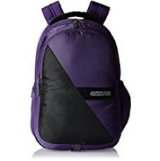 Buy American Tourister Encarta Purple Laptop Backpack (Encarta 05_8901836132960) from Amazon