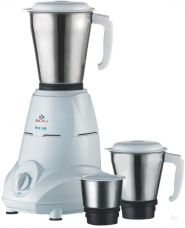 Bajaj Rex 500-Watt Mixer Grinder with 3 Jars (White) for Rs. 2,019