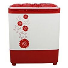 Buy Panasonic 6.5 kg Semi-Automatic Top Loading Washing Machine (NA-W65B3RRB, Red) from Amazon