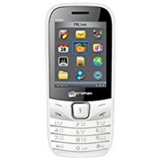 Buy Micromax CG666 (White-Grey) from Amazon