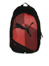 Get 50% off on PUMA Unisex Echo Plus Black & Red Backpack