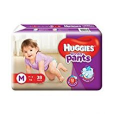 Buy Huggies Wonder Pants Diapers (Medium) - 38 Count from Amazon