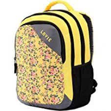 Buy Lavie Vogue Yellow Laptop Backpack (LAVIE_552076-YELLOW) from Amazon