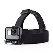 Buy AmazonBasics GoPro Head Strap Mount (Black) from Amazon