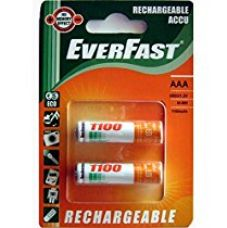 Buy Everfast Rechargeable ACCU Battery AAA 2Pcs from Amazon