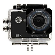 Buy STK CAMEXP/PP5 12 MP HD Waterproof Action Camera Kit (Black) from Amazon