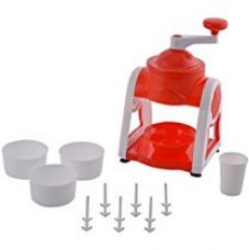 Floraware Indian Gola Slush Maker, 11 Piece, Red for Rs. 599