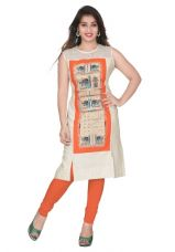 Buy Cotton blend printed kurta for Rs. 575