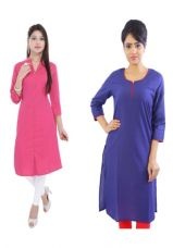 Buy Cotton combo Kurti for Rs. 602