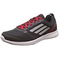 Buy adidas Men's Adiray M Utiblk, Silvmt and Rayred Running Shoes from Amazon