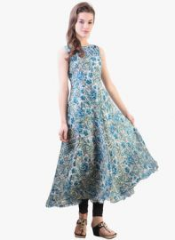 Libas Multicoloured Printed Anarkali for Rs. 720