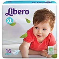Libero Open Extra Large Size Diapers (16 Counts) for Rs. 299