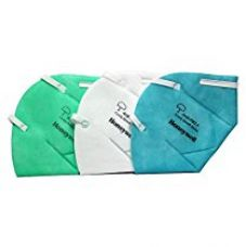 Buy Honeywell PM 2.5 anti-pollution foldable face mask, Multicolor, Pack of 3 from Amazon
