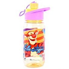 Disney Pooh Plastic Sipper Bottle, 550ml, Yellow/Violet for Rs. 269