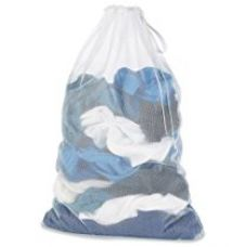 Whitmor Polyester Mesh Laundry Bag (White) for Rs. 321