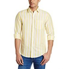 Buy Peter England Men's Casual Shirt from Amazon