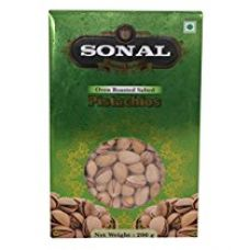 Buy Sonal Premium Oven Roasted Pistachios, 200g from Amazon