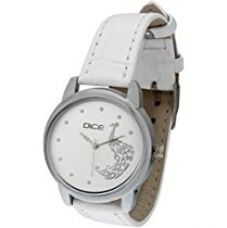 Buy Dice Women's Analogue White Dial Watch - GRC-W097-8824 from Amazon